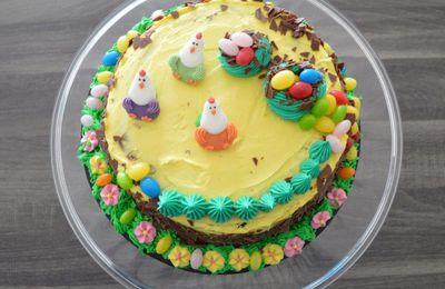 Moelleux au chocolat de Pâques