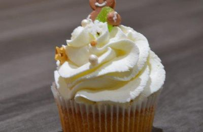 Cupcake citron chantilly