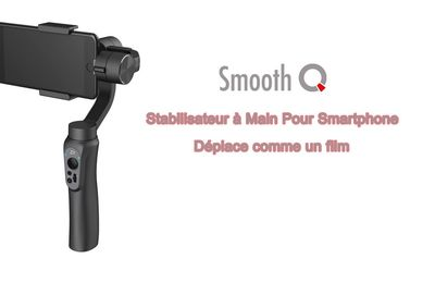 Zhiyun Smooth Q, plus coloré et plus convenable