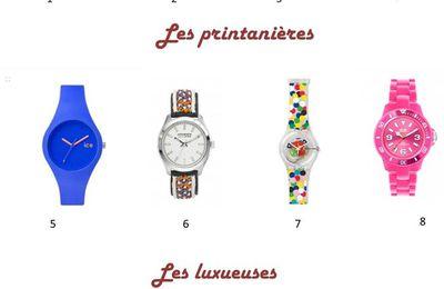 Ma sélection de montres 2016