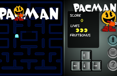 Game titles Pacman Originala