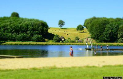 Le Lac de Poncharal à Vigeois en Corrèze