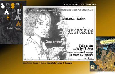 Les passions se partagent... avec Nelly Chadour et les éditions Le Carnoplaste