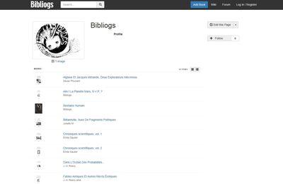 Les éditions Bibliogs sont désormais référencées sur le site... Bibliogs !