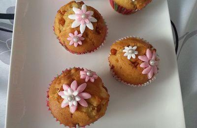 PÂTISSERIE : Muffins  caramel et pomme