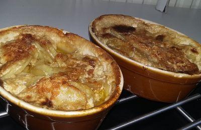 Gratin de pommes de terre au saucisses de Toulouse et au maroilles