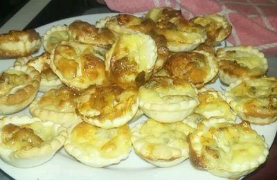 Tartelettes aux 4 fromages