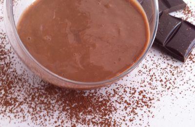 Crème dessert au chocolat au lait dukan