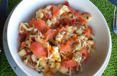 Salade neptune au konjac Dukan