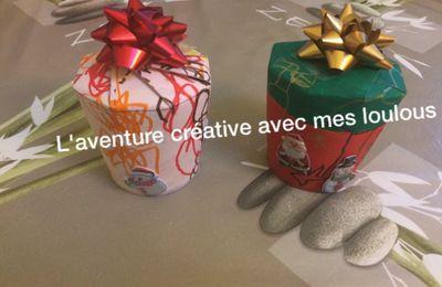 Boîtes cadeaux pour le Père Noël