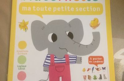 Maternelle ma toute petite section Gallimard Jeunesse