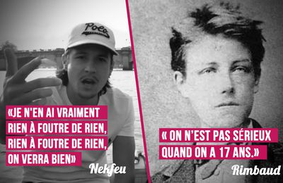 Nekfeu VS Rimbaud