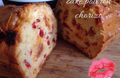 Cake poivron chorizo