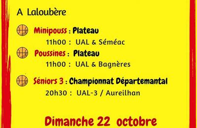 WE 21 & 22 octobre