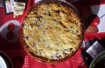 Recette : Crumble Pomme-Framboise