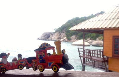 Premier arrêt du Petit Train - Shark Bay in Koh Tao