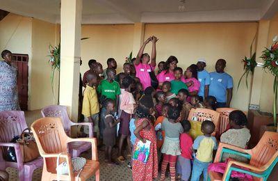 Visite dans un orphelinat