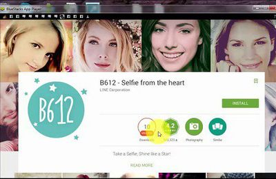 Line launches 'B612' selfie camera app