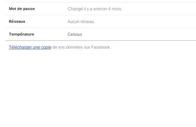 les étapes pour récupérer des messages Facebook effacés