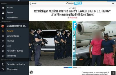 412 Michigan Muslims Arrested In Fed's 'LARGEST BUST IN U.S...HISTORY.