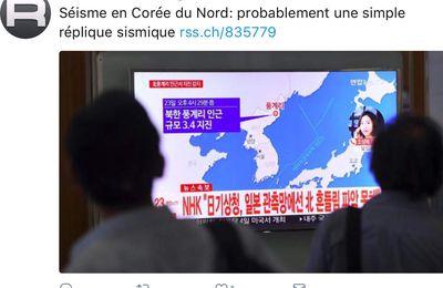 Séisme en Corée du Nord