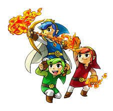 ~Jeu vidéo~The Legend Of Zelda: Tri Force Heroes