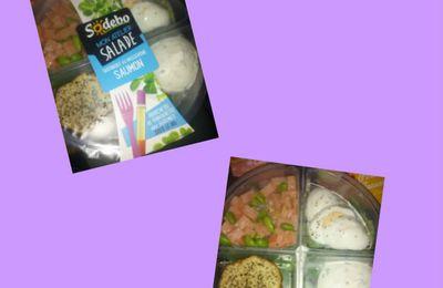 Les salades atelier SODEBO MON ATELIER SALADE - TARTINABLE AU MASCARPONE, SAUMON