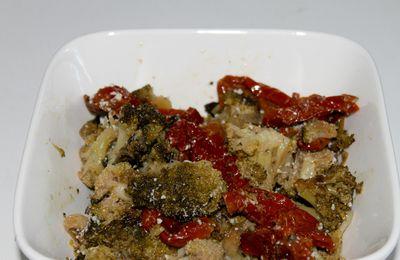 Poêlée de brocolis aux tomates confites