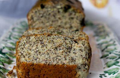 Cake au citron &pavot