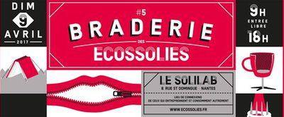 La 5e braderie des Ecossolies : Devenez consom'acteur de l'ESS !