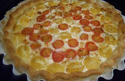 Tarte Aux Tomates Cerises Du Jardin