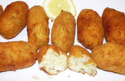 Croquettes de poisson et pomme de terre