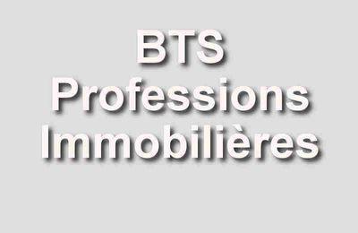 Préparation réussie à l'Examen du BTS Professions Immobilières