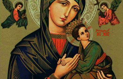 Notre Dame du Perpétuel-Secours, priez pour nous