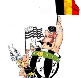 Courage aux belges