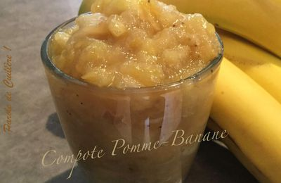 Compote pomme-banane