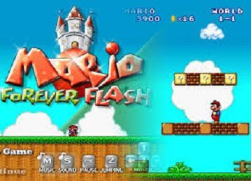 MARIO FOREVER GAME