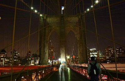 New-York : Brooklyn bridge