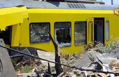 23 morts dans un accident ferroviaire