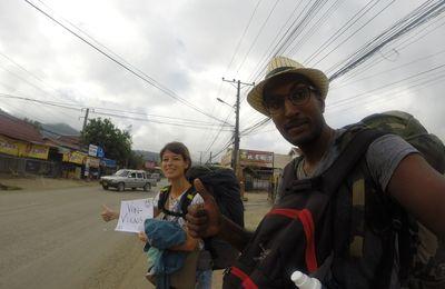 Auto-Stop au Laos, le coup de pouce n'est pas encore gagné!!!