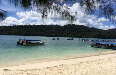 LANGKAWI plage de Pantai Cenang : visite des îles de l'archipel