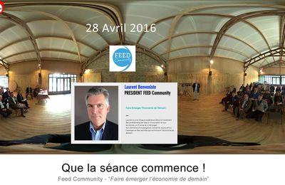 Conférence sur le Digital par FEED:  le mot de Laurent BENVENISTE