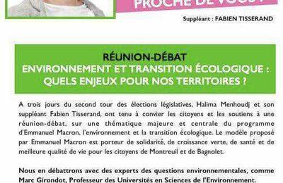 Environnement et transition écologique : quels enjeux pour nos territoires?