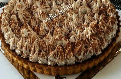 Banoffee pie - tarte caramel banane meringue