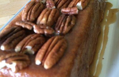 Le banana bread noix de pécan et sirop d'érable