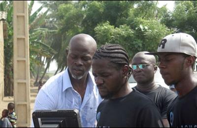 Bénin: A Hêvé, Djimon Hounsou veut capturer l' »esprit » du vaudou