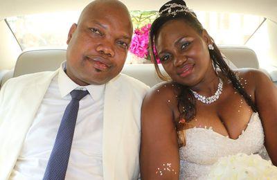 Mariage : Roger Seretoungou et Ninelle Annette Gotto s'unissent pour le meilleurs et le pire