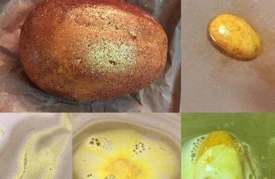 """Bombe de bain Lush """"Golden Egg"""""""