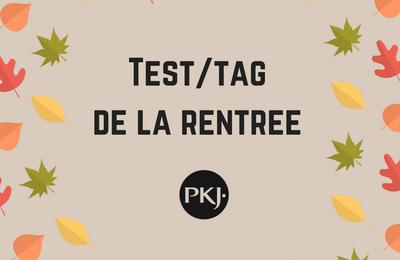 Test/tag de la rentrée by Pocket Jeunesse