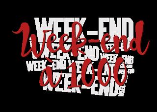 Week end à 1000 - du 20 janvier 2017 19h au dimanche 22 janvier 23h59